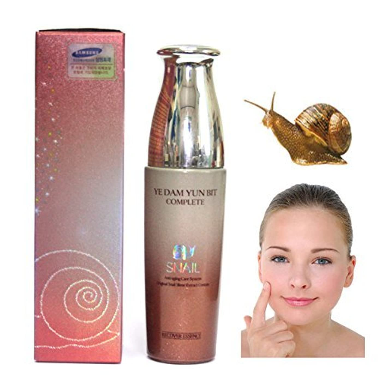 教える楽しませる可愛い[YEDAM YUN BIT] 完璧なスキンカタツムリ女エッセンス50ml/COMPLETE SKIN Snail Woman Essence 50ml/韓国化粧品/Korean cosmetics [並行輸入品]