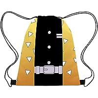Chermyaa 鬼滅の刃 巾着 バッグ 旅行スポーツバッグ ナップサック 変装 仮装 クリスマス ハロウィン 学生 男…