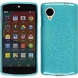 Google Nexus5 TPU グリップカバーケース ( Y!mobile ネクサス 5 EM01L / LG-D821 16GB 32GB 対応) 軽量ソフトモデル Design Cover Case 2015 NEW TYPE【全7色】 (Brushed Emerald(エメラルド))