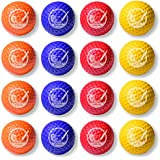 GoSports Foam Golf Practice Balls - Realistic Feel and Limited Flight   Soft for Indoor or Outdoor Training   Choose Between 16 Pack or 64 Pack