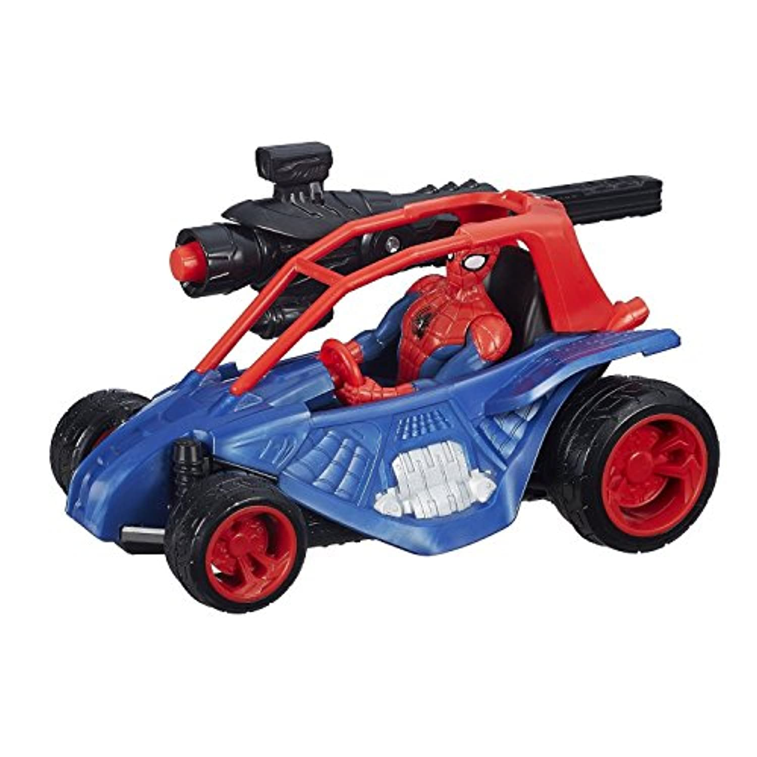 Marvel Ultimate Spider-Man Web Warriors Blast 'N Go Racers Sand Runner [並行輸入品]