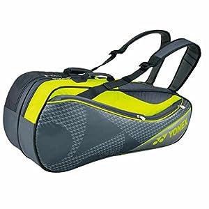 ヨネックス(YONEX) テニス ラケットバック6 (リュック付き、ラケット6本用) BAG1722R グレー