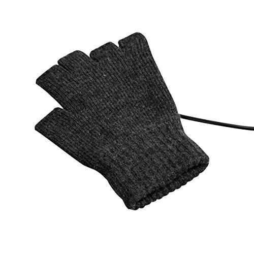 USB指までヒーター手袋 USBWMGLV ※日本語マニュアル付き  サンコーレアモノショップ