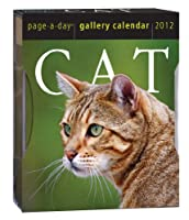 Cat Gallery 2012 Calendar (Page a Day Gallery Calendar)