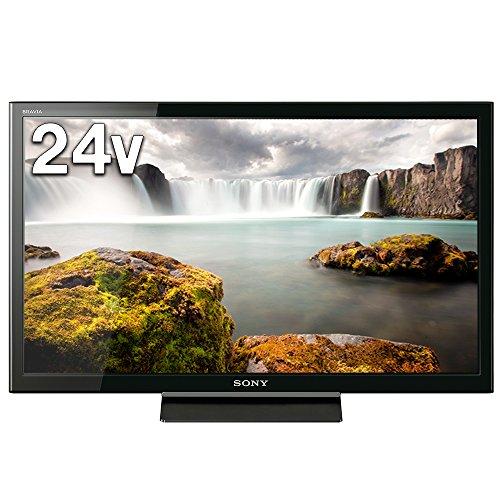 ソニー SONY 24V型 ハイビジョン 液晶テレビ ブラビア (2017年モデル) 外付けHDD裏番組録画対応  KJ-24W450E
