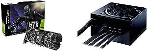 【セット買い】玄人志向 NVIDIA GeForce RTX 2070 SUPER 搭載 グラフィックボード 8GB デュアルファン GALAKURO GAMINGシリーズ GG-RTX2070SP-E8GB/DF & 電源 KRPW-BKシリーズ 80PLUS Bronze 750W ATX電源 KRPW-BK750W/85+