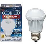 アイリスオーヤマ LED電球 E26口金 30W形相当 昼白色 下方向タイプ 人感センサー エコハイルクス LDA4N-H-S4