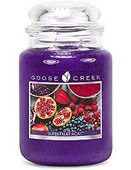 Goose Creek ES24570 24 oz Essential Superfruit Acai Jar Candle
