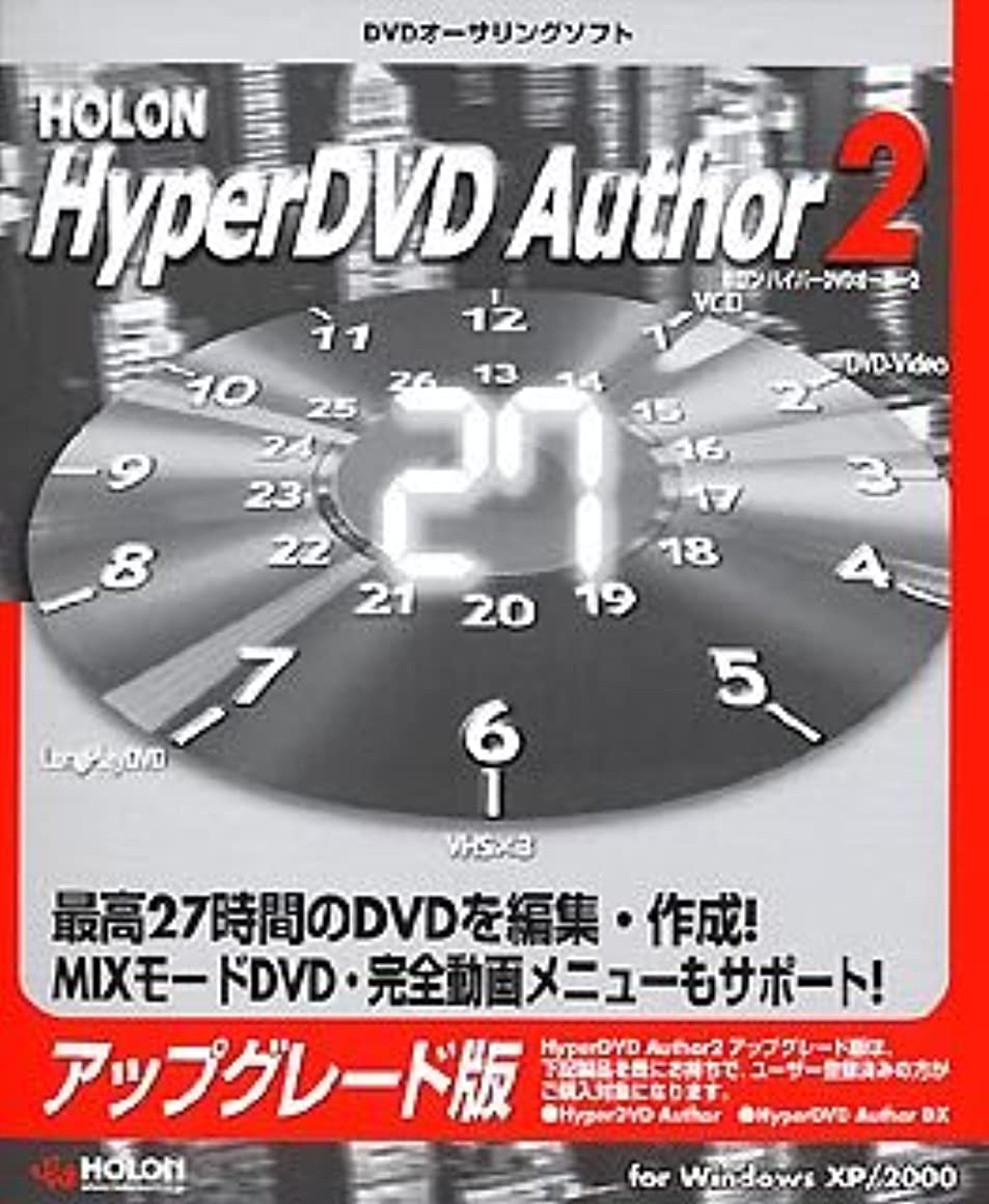 煙突ラッチフルートHolon Hyper DVD Author 2 アップグレード版