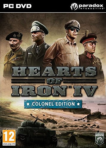Hearts of Iron IV: Colonel Edition (PC DVD) (輸入版)