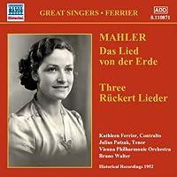 グレート・シンガー・シリーズ フェリア - マーラー : 大地の歌 / リュッケルトの詩による五つの歌 より