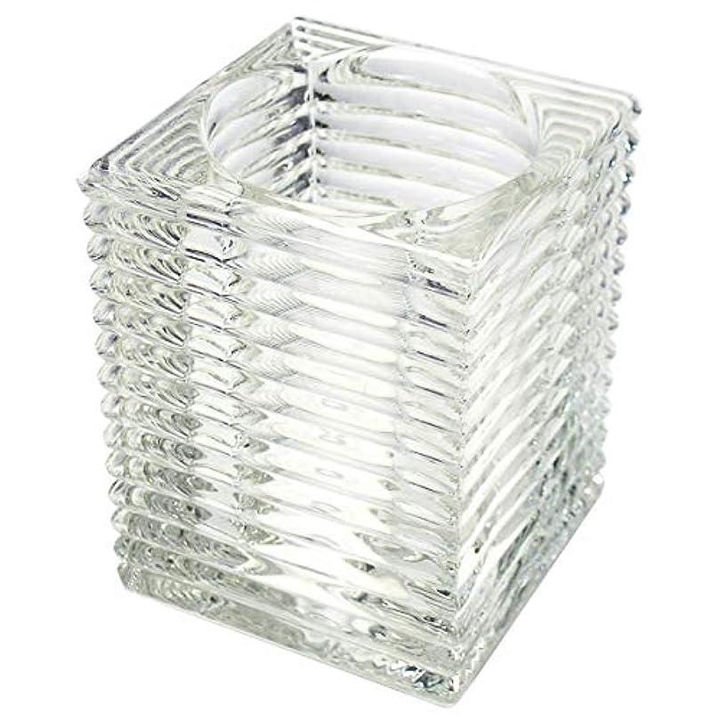 広告パネルまあキャンドルホルダー ガラス6 キャンドルスタンド ろうそく立て ティーライトキャンドル ティーキャンドル