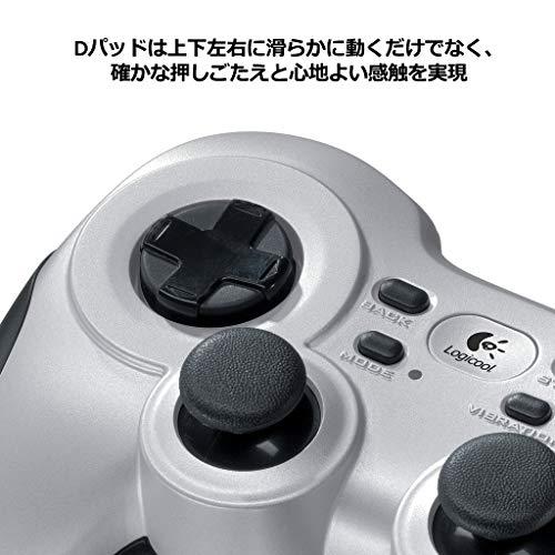 『Logicool G ゲームパッド ワイヤレス F710r シルバー PC ゲームコントローラー FF14推奨 Xinput F710 国内正規品 2年間メーカー保証』の6枚目の画像