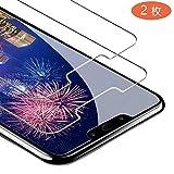 【2019年最新バージョン】 Huawei Nova3 ガラスフイルム 【日本製素材旭硝子製】最大硬度9H/高透過率/3D Touch対応/自動吸着/3Dラウンドエッジ加工/指紋防止/気泡ゼロ/貼り付け簡単【2枚セット】Huawei Nova3 強化ガラス (2.5D光沢タイプ)透明