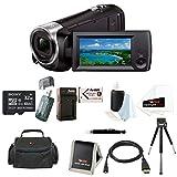 Sony HD Video Recording HDRCX405 HDR-CX405/B Handycam Camcorder (Black) + Son... [並行輸入品]