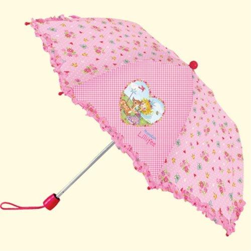 (シュピーゲルブルグ) SPIEGELBURG プリンセスリリー Princess Lillifee 安全らくらく折りたたみ傘