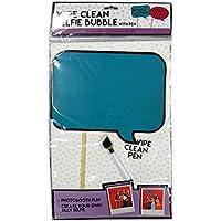 Wipe Clean Selfie Bubble Dry Erase Board with Pen