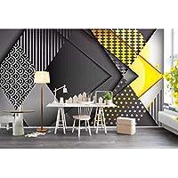 Ljjlm カスタム3D写真の壁紙壁画のリビングルームのソファテレビの背景壁紙幾何学的図形の3D写真写真の壁紙家の装飾-160X120CM