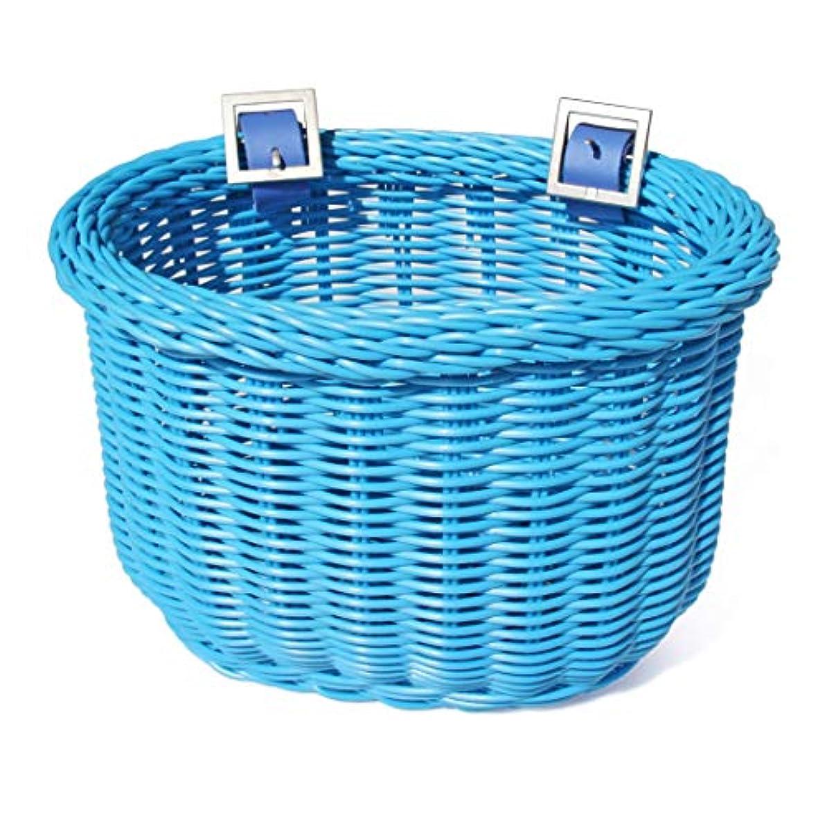 八百屋さん懐疑論お酒Colorbasket 01259 Kid's Front Handlebar Bike Basket, Blue by Colorbasket