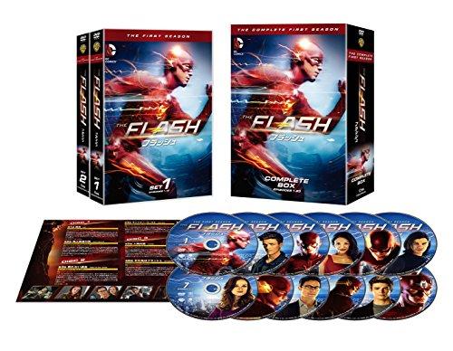 THE FLASH / フラッシュ <ファースト・シーズン> コンプリート・ボックス(12枚組) [DVD]