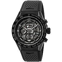 [タグ・ホイヤー]TAG Heuer 腕時計 Carrera ブラック文字盤 CAR2A90.FT6071 メンズ 【並行輸入品】