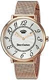 JUICY COUTURE Juicy Couture Women's 'LA ULTRA SLIM' Quartz Gold Casual Watch(Model: 1901557) [並行輸入品]