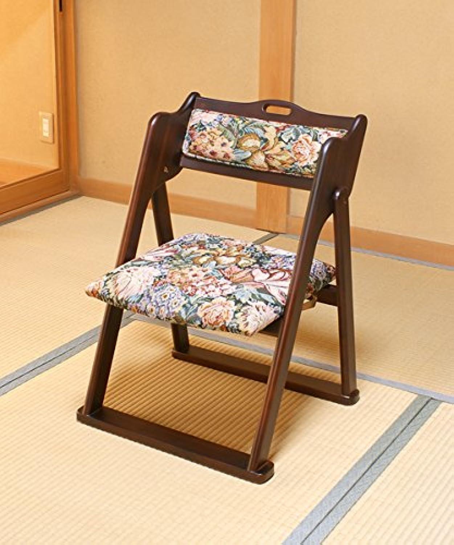 仏前折りたたみ椅子 畳に優しい脚底構造 仏前用椅子 和室用椅子