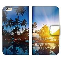 ZenFone 3 Max ZC553KL ケース 手帳型 ストラップホール付 夏 太陽 サンシャイン 景色 R003903_05