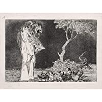 Goya Y Lucientes Francisco De Fearful Folly Extra Large Art Print Wall Mural Poster Premium XL 大アート壁ポスター