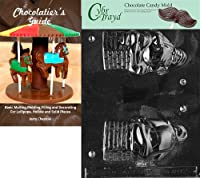 Cybrtrayd 「Hollow Santa/Chimney」クリスマスチョコレートキャンディ型 チョコレートのガイド付き