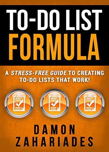 amazon to do list formula a stress free guide to creating to do