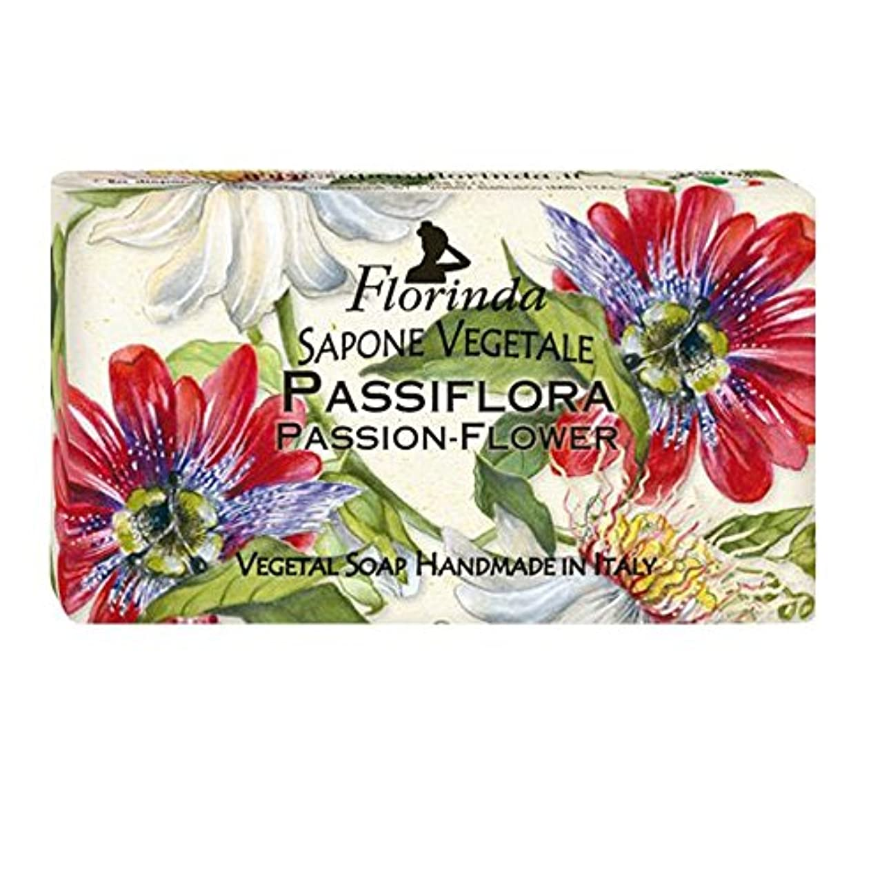 ゆるくブリーク持続的Florinda フロリンダ フレグランスソープ フローレンス パッションフラワー 100g [並行輸入品]
