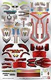 ダンボール戦機W(ダブル) LBX ステッカー9 LBXペルセウス&LBXアキレス・ディード用