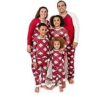 Burt's Bees Baby - Family Jammies, Holiday Matching Pajamas, Organic Cotton PJs