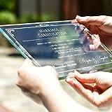ガラス結婚証明書「ヴェール」  /結婚式 誓約書