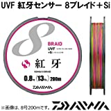 ダイワ  ライン UVF 紅牙センサー 8ブレイド+Si 0.8号 200m
