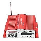 KKmoon HiFi 高性能 高音質 4CHステレオアンプ サブウーファー MP3スピーカー USB SD 放送支持 FM機能 リモコン付