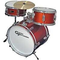 Groove Percussion JR100 3 Piece Children's Drum Set by Groove Percussion [並行輸入品]