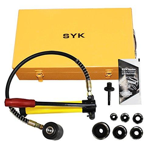 手動油圧式パンチャー 専用ケース付 能力8T