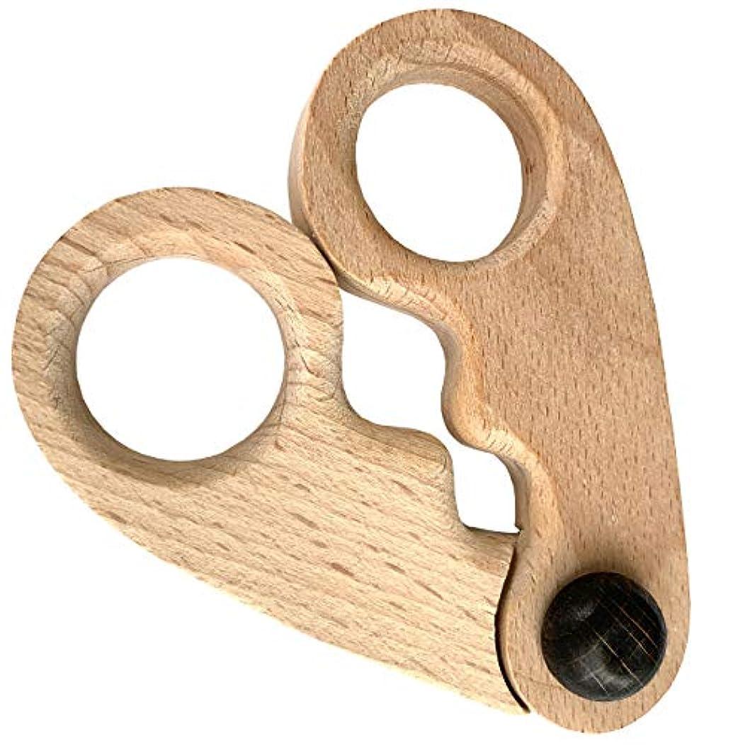 ガウン割り込み適合する爪指用マッサージャー