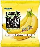 オリヒロプランデュ ぷるんと蒟蒻ゼリーパウチ バナナ 20g×6個 ×8袋