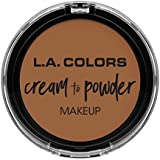 L.A. COLORS Cream To Powder Foundation - Sand (並行輸入品)