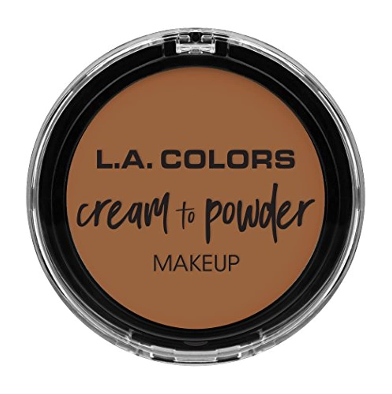 モッキンバード窓スパンL.A. COLORS Cream To Powder Foundation - Sand (並行輸入品)