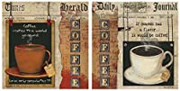 Thirstystone 4-Piece Coffee Heaven-Love A/2 Coaster Set by Thirstystone [並行輸入品]