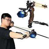 Huntingdoor スリングショットキット 釣り?カタパルト プロハンター狩猟釣り アーチェリー用品 組立簡単 高品質