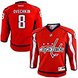 reebok ジャージ Alexander Ovechkin Washington Capitals NHLリーボック幼児用レッドレプリカホッケージャージー( 2t - 4t )