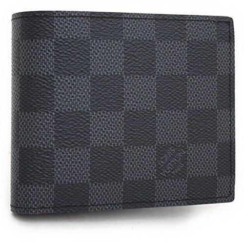 (ルイヴィトン) LOUIS VUITTON ダミエ グラフィット ポルトフォイユ マルコNM (2つ折り財布) 『N63336』