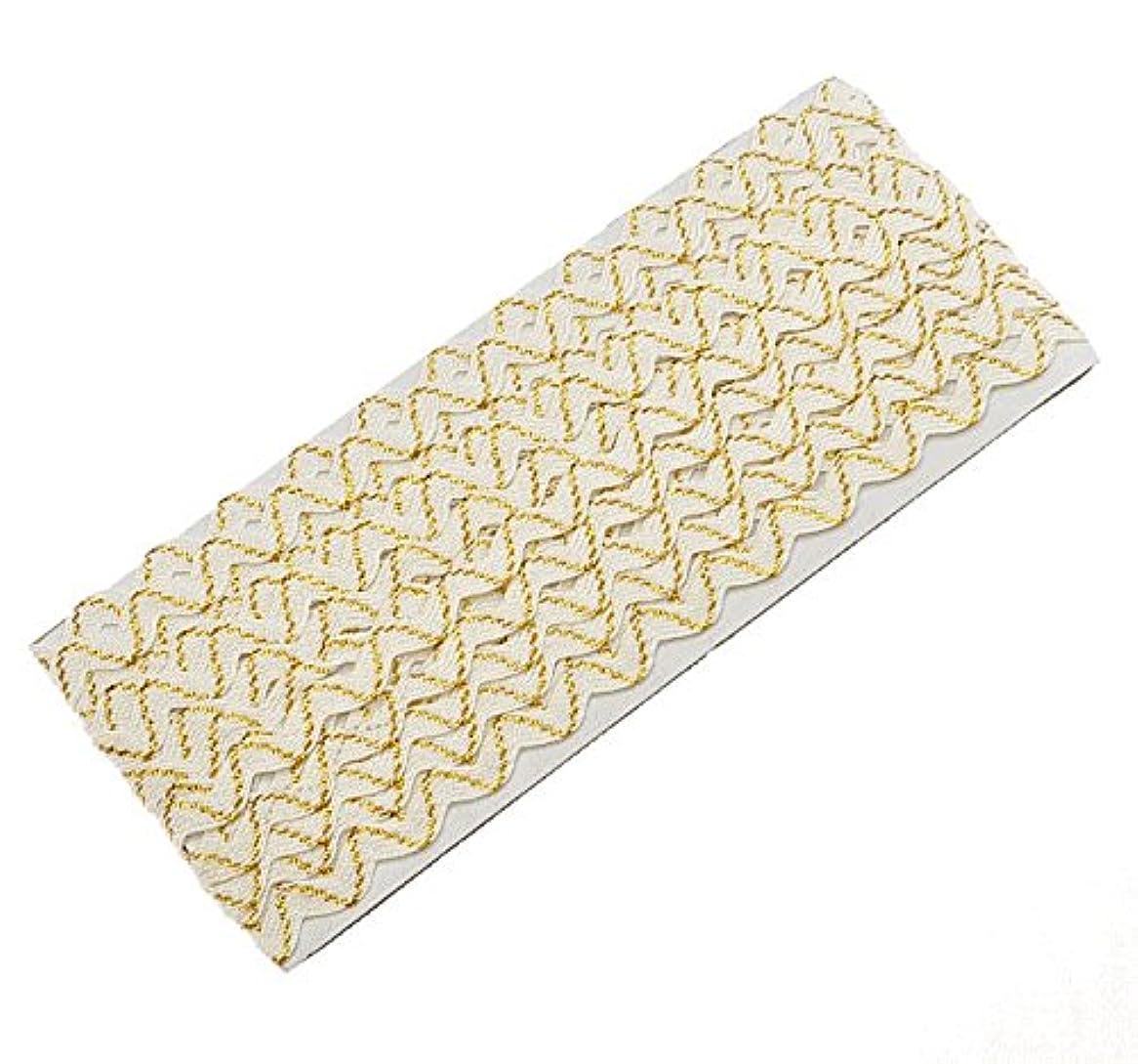 パウダーぬいぐるみ比較的ラメ入り山道テープ 約5mm 5ヤード(約4.5m)リボン (ゴールド)