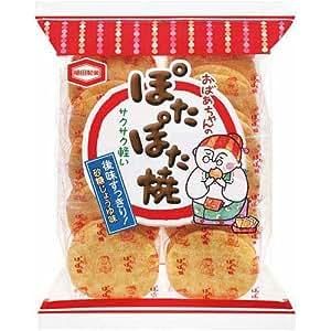 亀田製菓 ぽたぽた焼 11袋(22枚入)×3パック