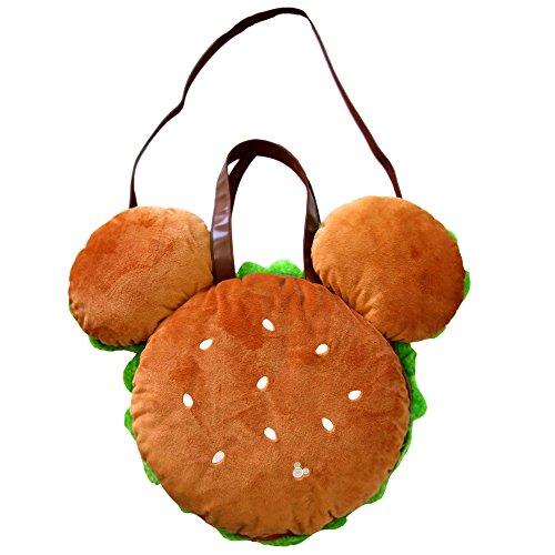 ミッキー シェイプ ハンバーガー バッグ トート ショルダー バッグ 鞄 ディズニー ( 東京 ディズニーリゾート限定 ディズニー グッズ お土産 ) ( disney_y )